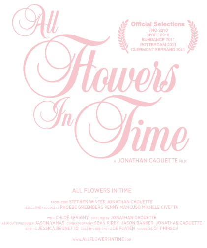 All Flowers in Time - a JONATHAN CAOUETTE film.